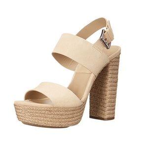 Michael Kors Summer espadrille heels